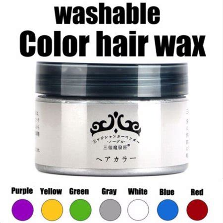 nice temporary hair color easy  rinse   color