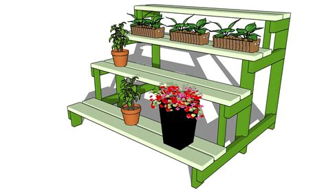 Patio Plant Stand Plans by Tiered Outdoor Plant Stand Plans Plans Diy Free