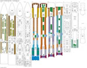 Constellation Deck Plan 7 constellation deck plans diagrams pictures