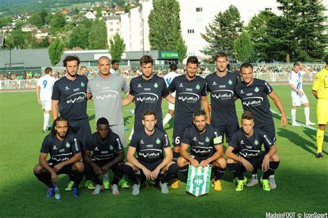 equipe de st etienne photos foot equipe etienne 08 07 2015 etienne lausanne match amical