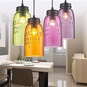 Modern stainde glass pendant light fixtures color wine