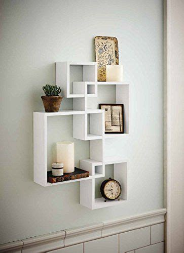Home Design Generic by Generic Intersecting Squares Wall Shelf Decorative