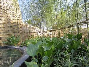taiwan garten mit einem pavillon aus bambus geflochten With französischer balkon mit garten flora kalender 2018