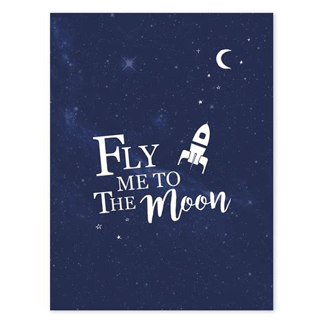 beautiful wall clocks for your home lilipinso fly me to the moon poster ǀ minideco co uk