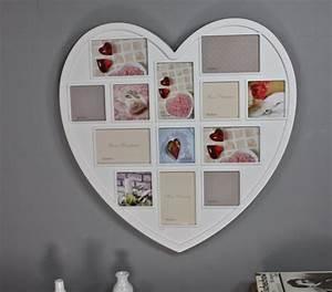 Bilderrahmen Weiß Mehrere Bilder : bilderrahmen herz collage kunststoff wei ~ Bigdaddyawards.com Haus und Dekorationen