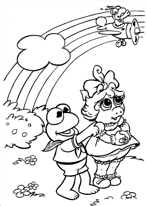 Muppet Babies Coloring Pages Baby coloring pages Fairy