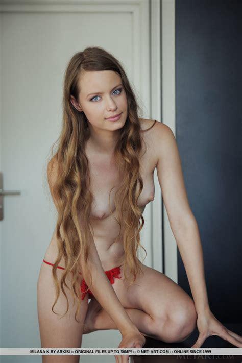 Milana K Nude In Nagusia At Metart Hunter