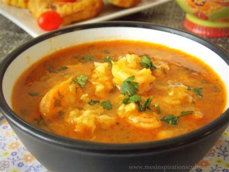 la cuisine vietnamienne soupe aux crevettes شربة القمرون او الجمبري le