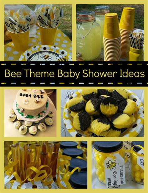 baby shower bee theme bee themed baby shower images