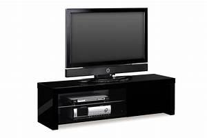 Meuble Tv Noir Ikea : meuble tv noir but choix d 39 lectrom nager ~ Teatrodelosmanantiales.com Idées de Décoration