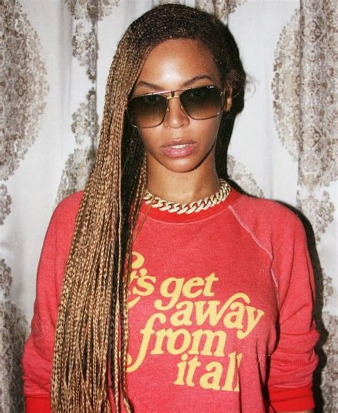 beyonce s knee length box braids boxes irises and black