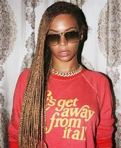 Beyonce's Knee-Length Box Braids | Boxes, Irises and Black