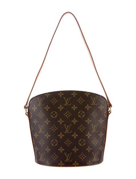 louis vuitton monogram drouot shoulder bag handbags