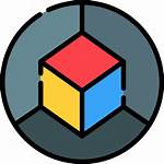 3d Cube Icon Icons Shapes Flaticon