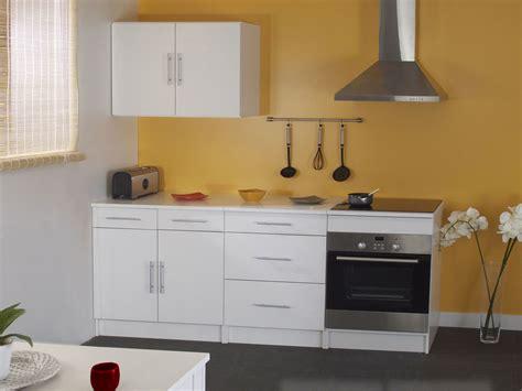 meuble pour four encastrable avec sous plaque longueur 60cm simply blanc