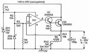3v To 30v  0 To 1 Amp Stabilized Psu  In 2019