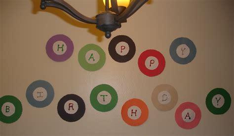 dont disturb  groove  simple birthday decoration