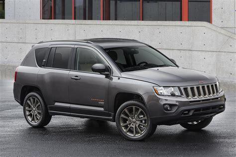 jeep crossover black 2016 jeep compass 75th anniversary edition conceptcarz com