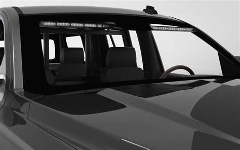 raptor tir interior split led visor lightbar  srt stl