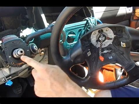 vw golf  lenkrad ausbauenwechseln tutorial youtube