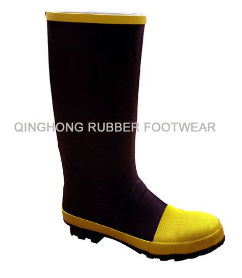 Rubber Boot Hs Code by China Rubber Knee Boots With Steel Toe China Rubber