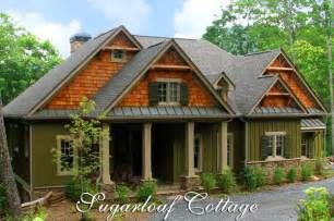 Jim Walter Homes Victorian Floor Plan by Rustic Mountain Style Cottage House Plan Sugarloaf Cottage
