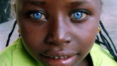 Black Person With Brown Hair by Black With Blue