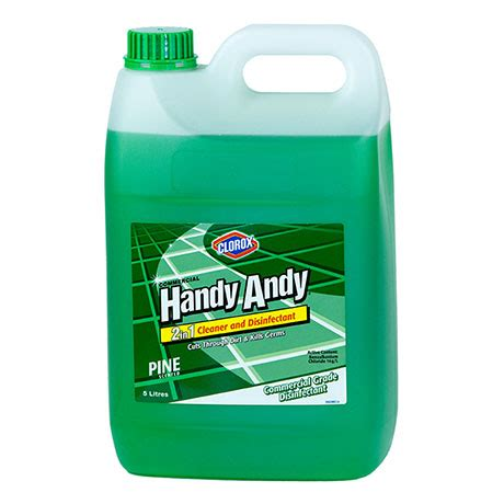 Handy Andy® Cleaner And Disinfectant Green 5L - Clorox ...