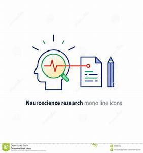 Logotipo Del Concepto De La Neurología Y De La Psicología ...