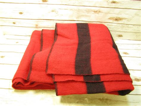 Vintage 80 X 68 Mariposa Red & Black Stripe Wool Camp Blanket Throw Pigs In Blankets Back Bacon Best Pocket Blanket For Beach Chevron Knit Tutorial Electric King Size Extra Length Easy Pattern Sophie La Girafe Set What Is The Meaning Of Purchase Agreement How Many Shirts Do You Need To Make A Tshirt