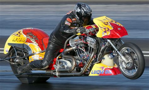 Ron Gledhill Motorcycle Drag Racing Ready For Vegas