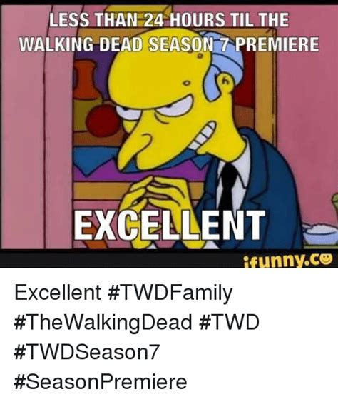 Less Than 24 Hours Til The Walking Dead Season Tapremiere