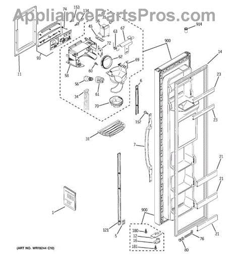 ge wrx ice dispenser funnel appliancepartsproscom