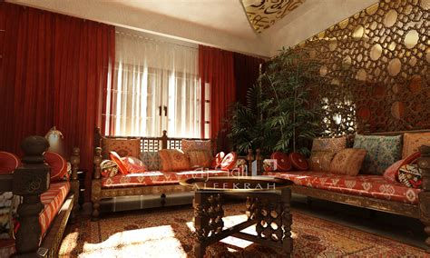 islamic features living room  behance
