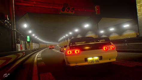 [photo Mode/wallpaper]jdm Meet Up At Shuto Expressway