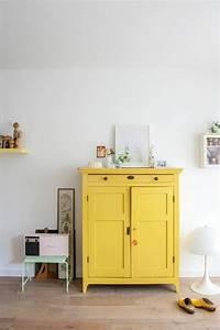 la couleur jaune moutarde nouvelle tendance dans l With meuble jaune moutarde