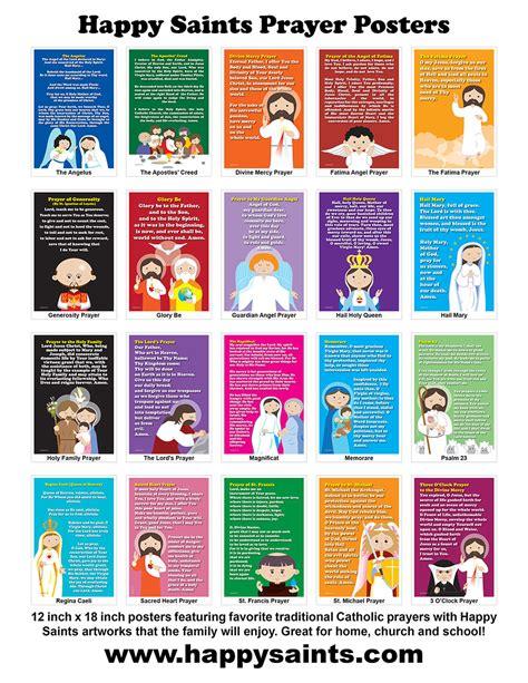 happy saints happy saints prayer posters