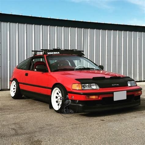 Honda Civic Crx 88 89 90 91 1988 1989 1990 1991 Hx Bra Car