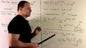 Root Test For Series Sum  1-1  N 2   N 3