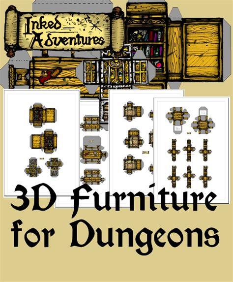 dungeon furniture plans  woodworking