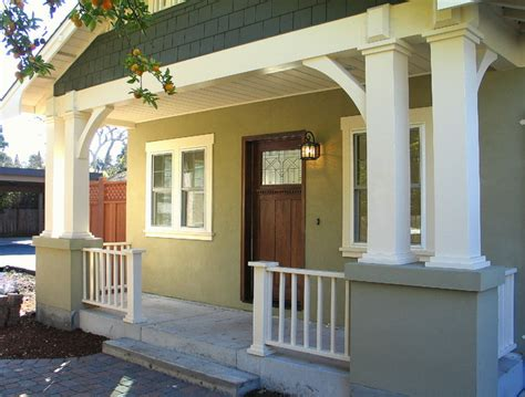 craftsman style porch craftsman bungalow front porch