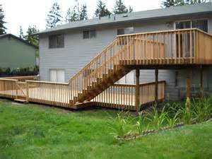 Beautiful Two Level Deck by Two Level Deck Sunset Decks By Jon Wetzel