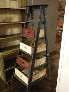 Ideas about old ladder decor on