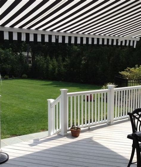 black white backyard awning httpwwwawningresourcescomdefaultaspx awesome awnings