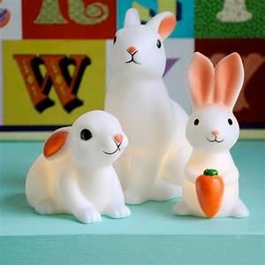 Veilleuse Bébé Lapin : mini veilleuse lapin ~ Teatrodelosmanantiales.com Idées de Décoration
