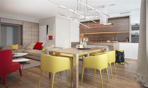 peinture salon cuisine ouverte association de couleur 25 exemples de déco d 39 intérieur