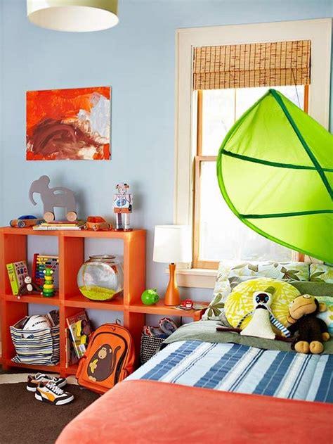 Wandgestaltung Kinderzimmer Orange by Kinderzimmer F 228 Rblig Gestalten Das Fr 246 Hliche Orange