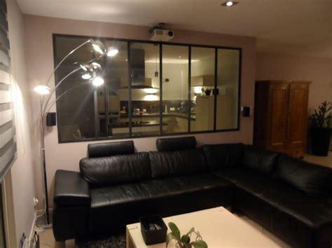 cuisine dans salon verrière atelier d 39 artiste séparation vitrée entre une