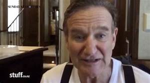 Robin Williams recorded touching video for cancer sufferer ...