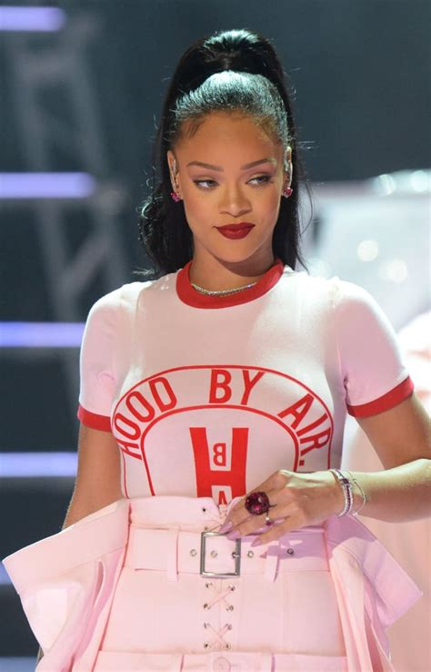 Rihanna Hair Makeup The Mtv Video Music